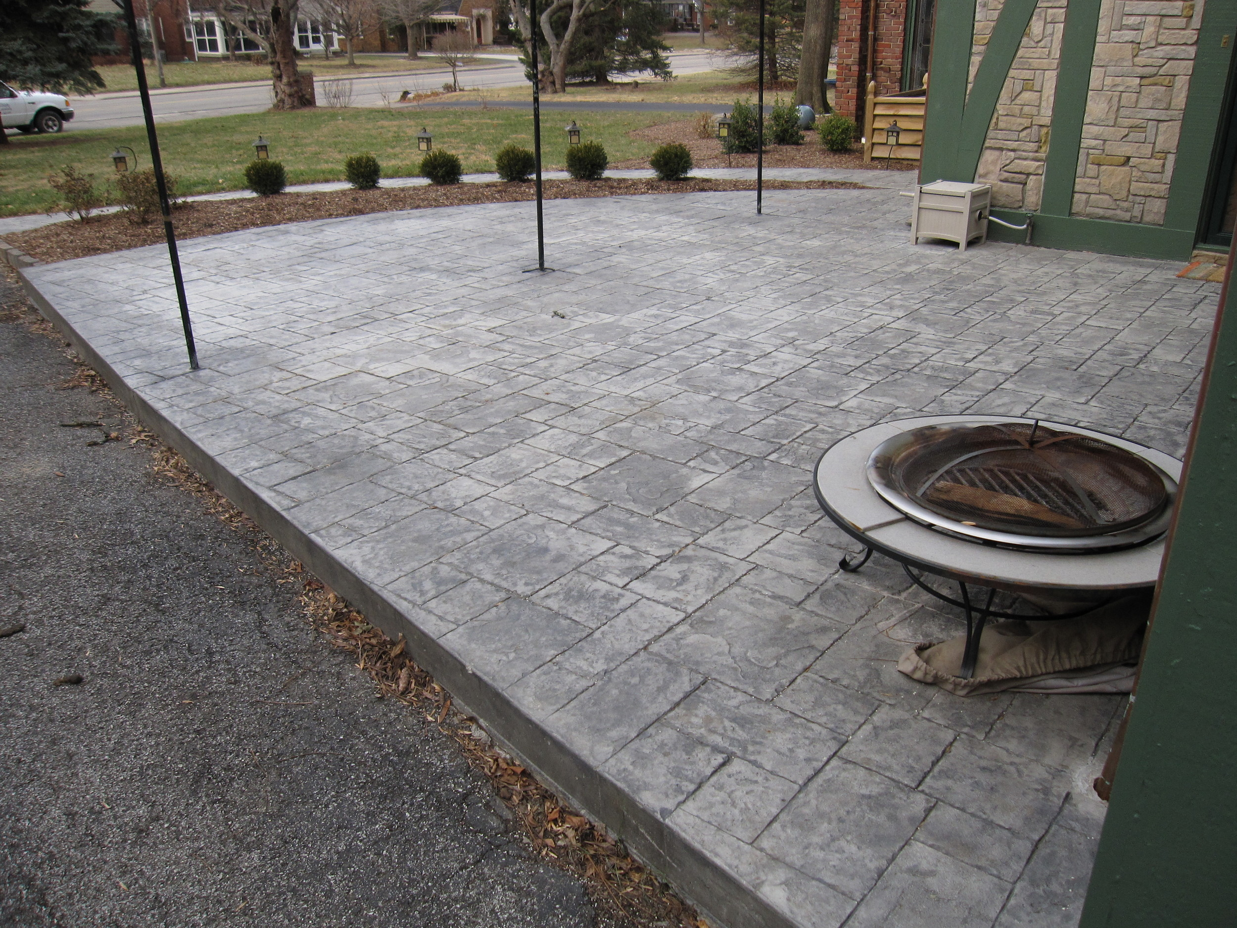 MATTINGLY CONCRETE INC. PATIOS