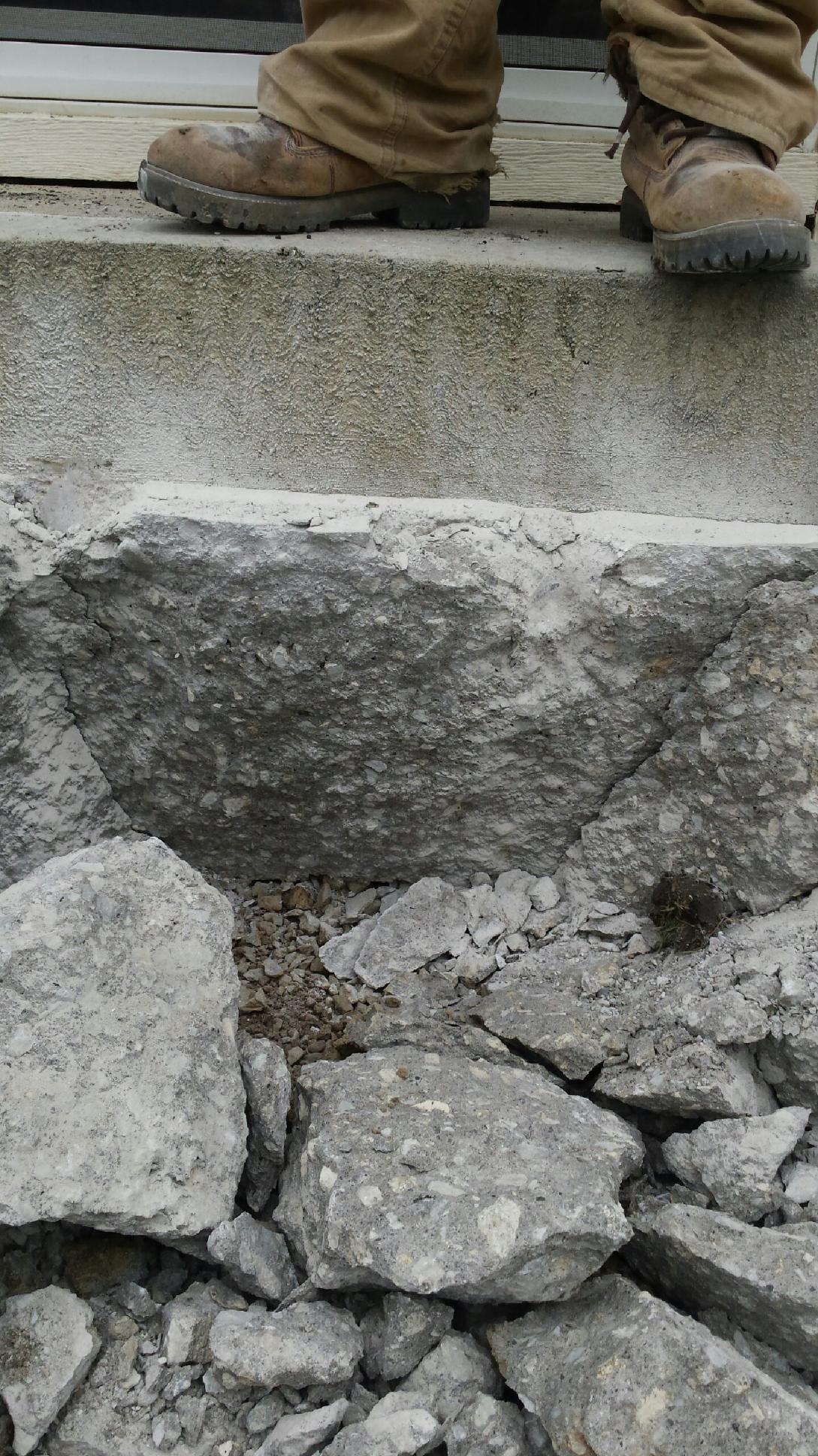 Thick Concrete...