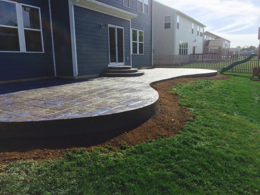 Backfilling and landscaping...