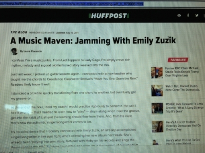 Read Emily's profile on  HuffPost