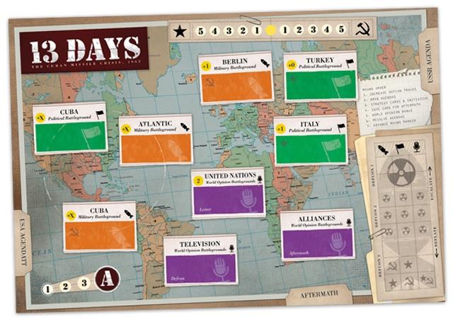 13 Days Game Board