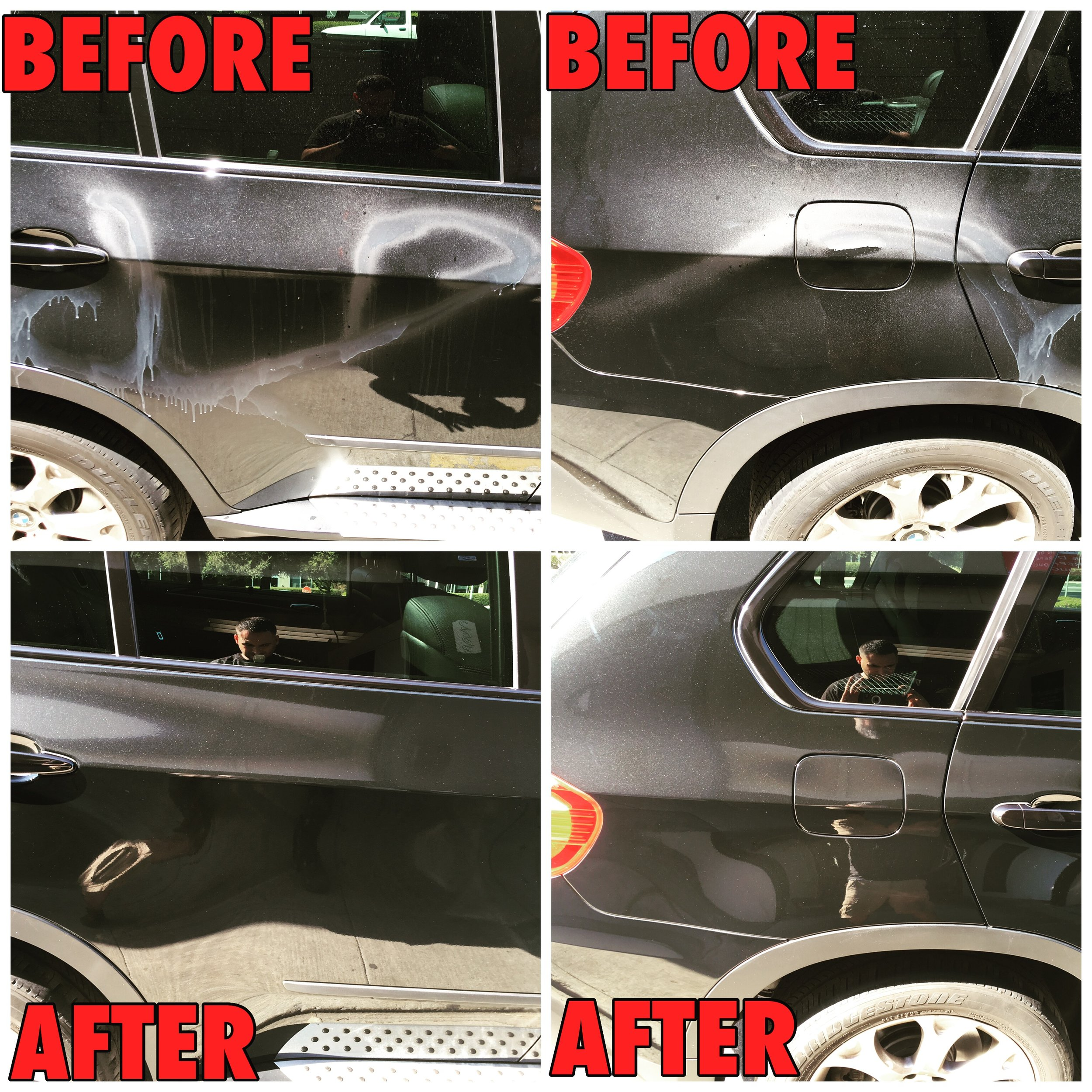 Paint Correction Graffiti Removal