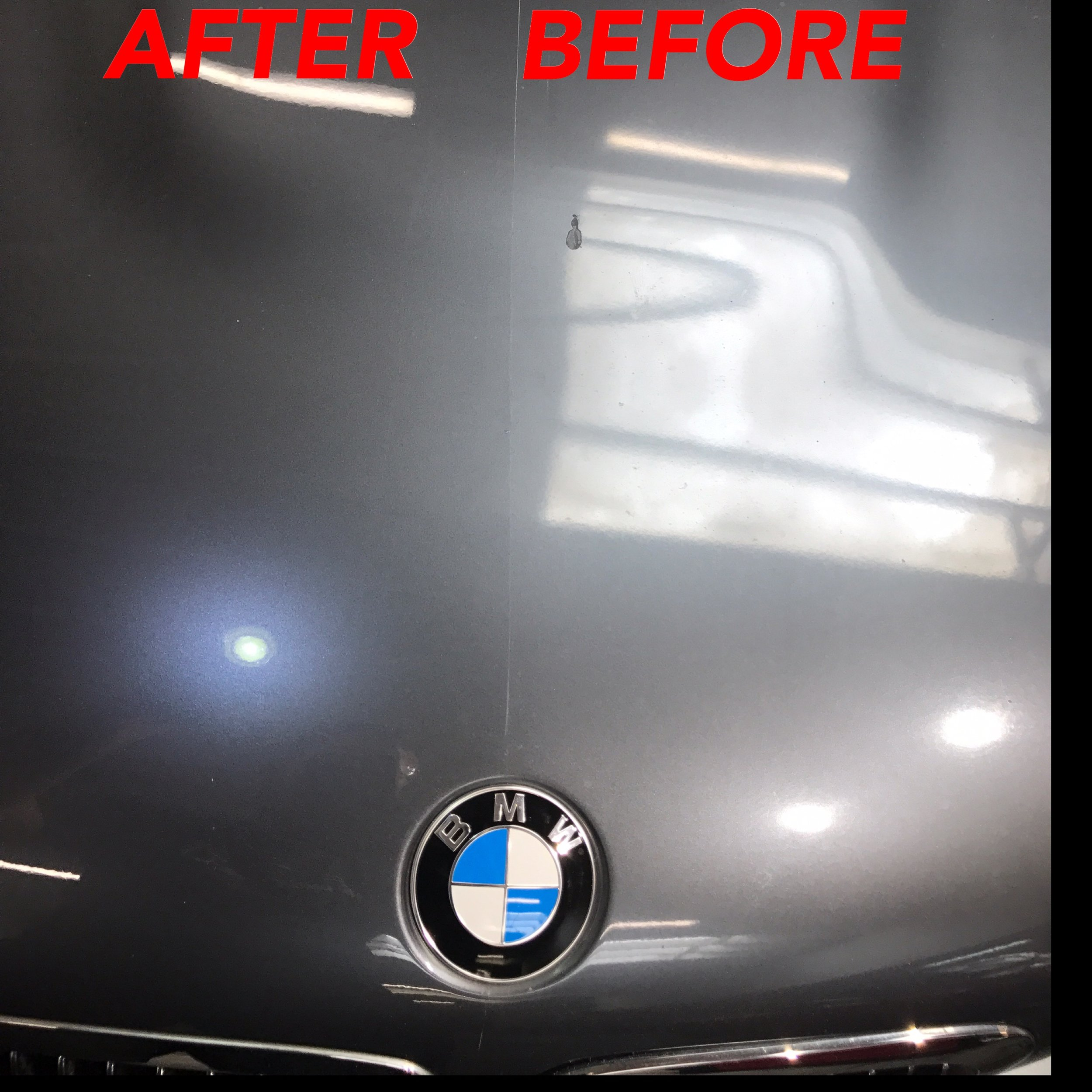 Bmw faded oxidized Paint Restoration
