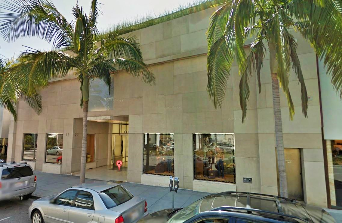 7. BEVERLY HILLS - Gucci Building, 345-347 N. Rodeo Dr., Beverly Hills, CA 90210 - $108 million