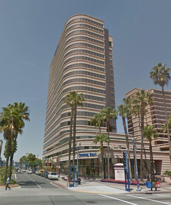 5. LONG BEACH: Shoreline Square Tower, 301 E. Ocean Blvd., Long Beach, CA 90802 - $101.7 million