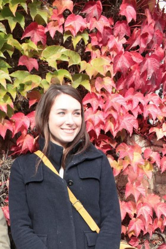 Kate Butler, Alumna Fall 2012,maintains her own blog called  La Vie en Couleur  .