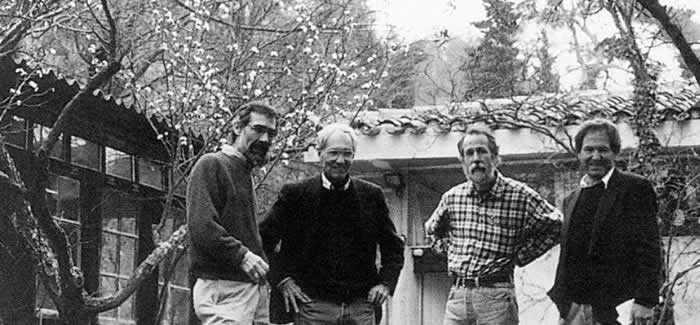 Alan Roberts, William Weyman, John Gasparach, and Francois de Asis