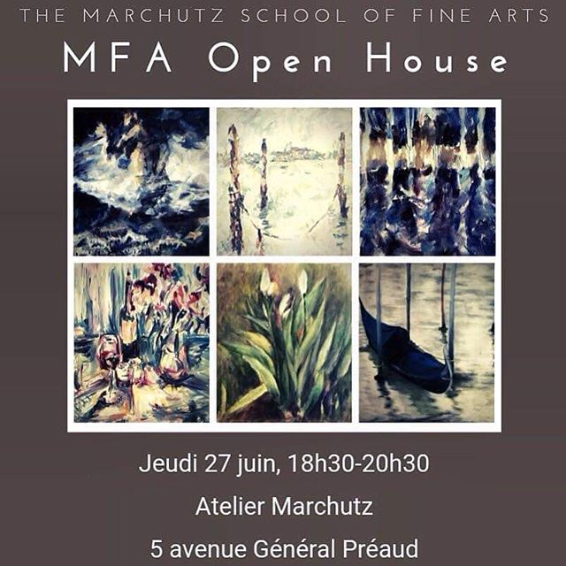 Come join us this Thursday, June 27th from 18h-20h30 at the Marchutz School for our 2nd year MFA Open House!  #artexpo #marchutzmfa #painting #art #artschool