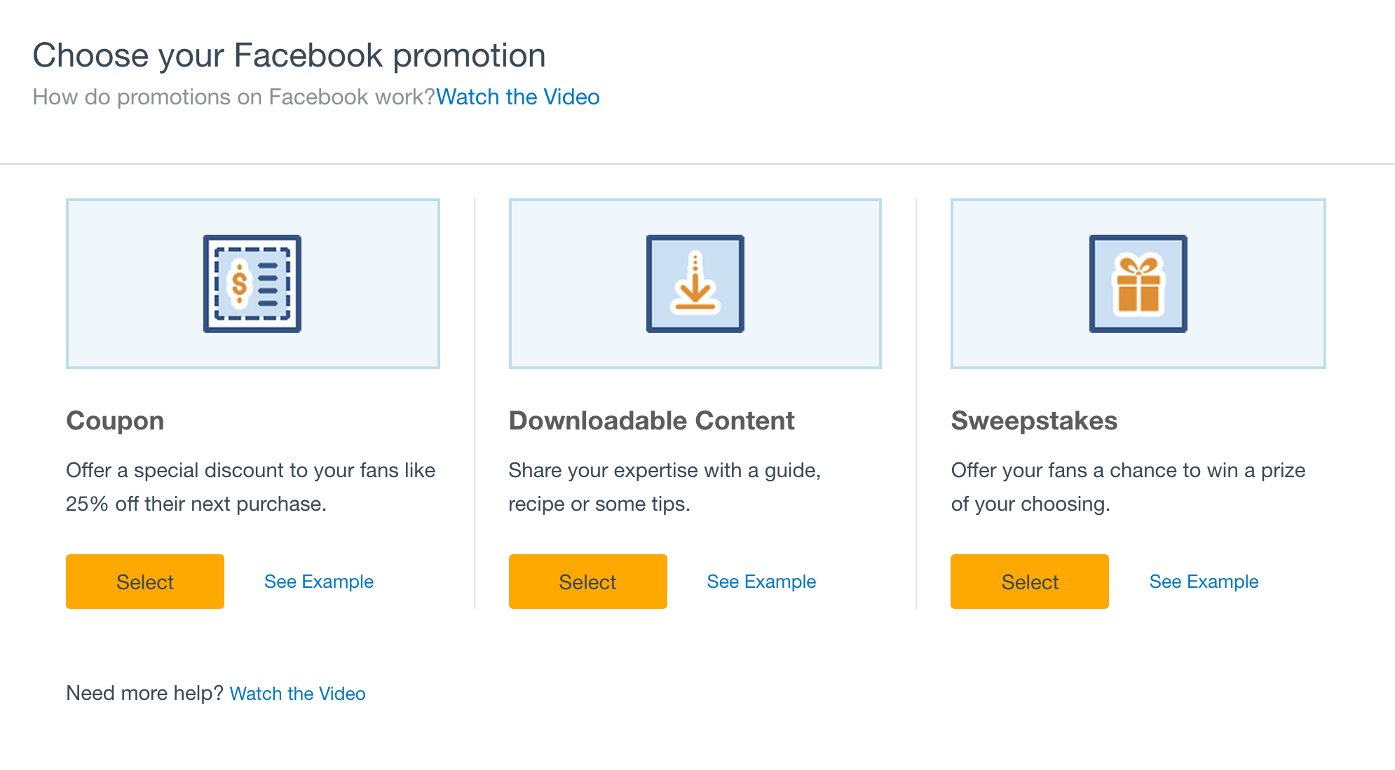 How to run a Facebook promotion with Constant Contact.