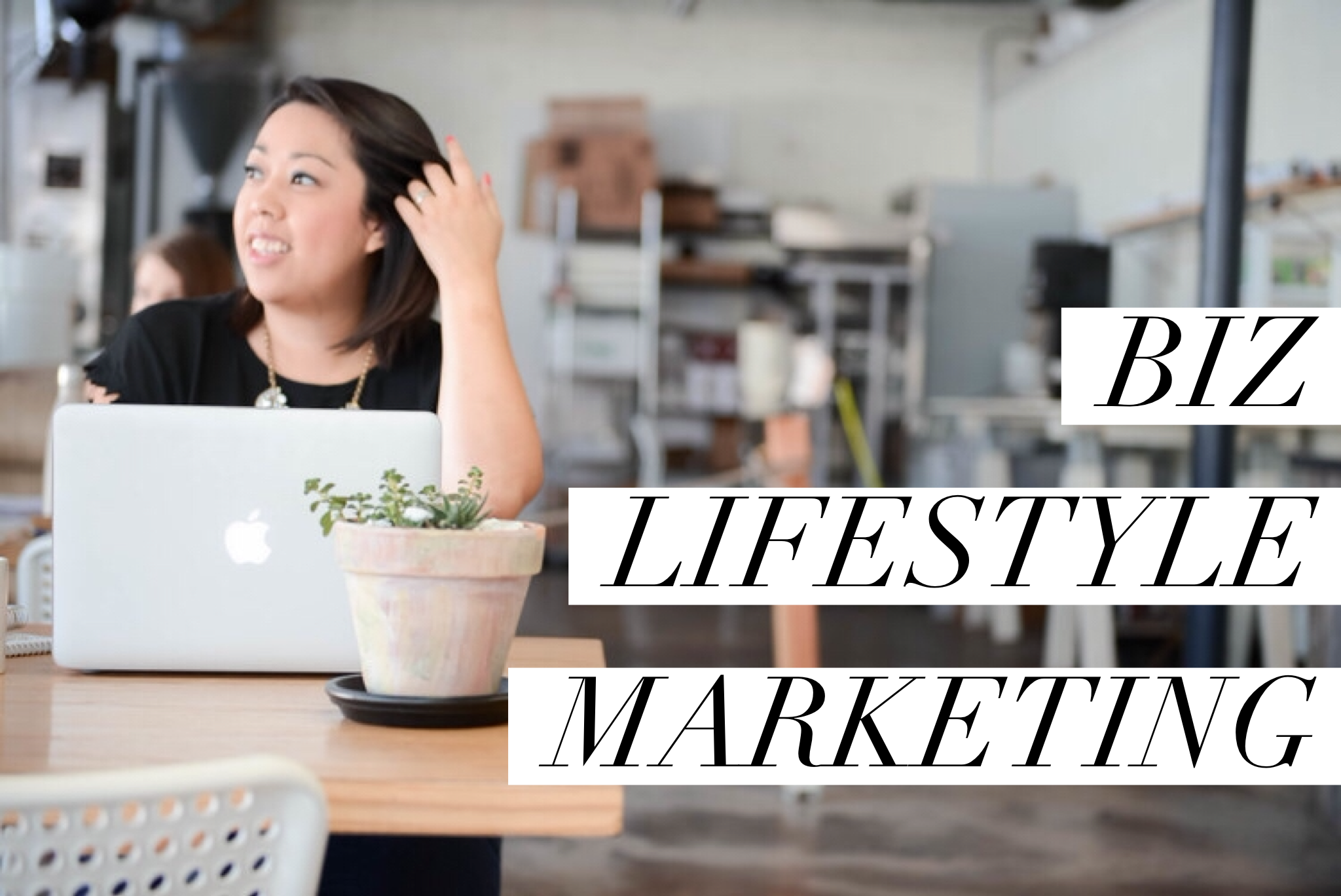 Creative business lifestyle marketing. Become the face of your business again!