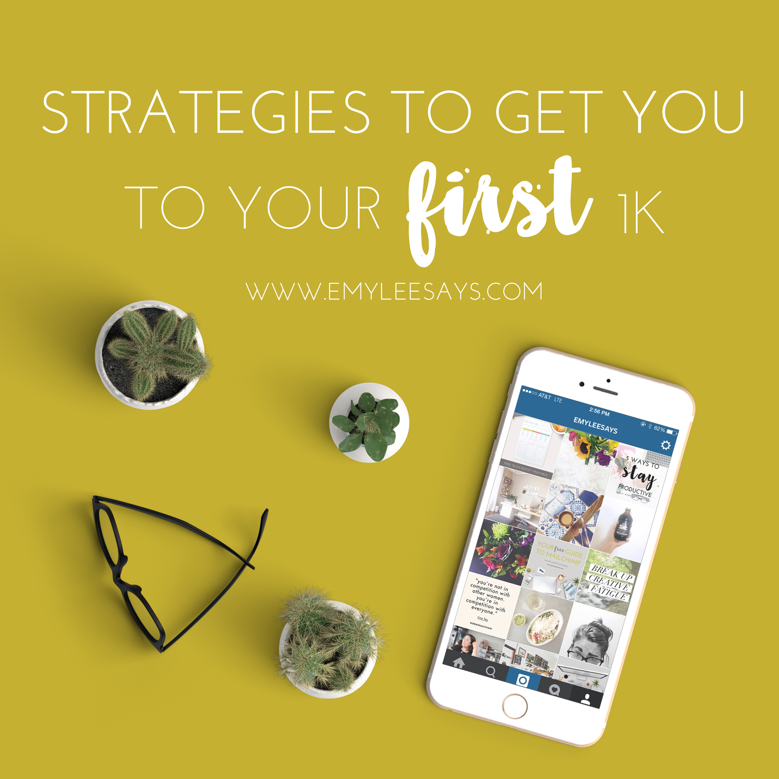 Copy the strategies I used to get my first 1k on Instagram and take note of the tactics that ended up being a huge waste of time.