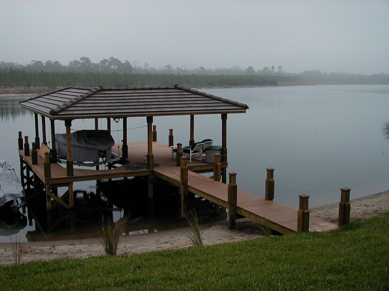 Ski Lake Boat Dock