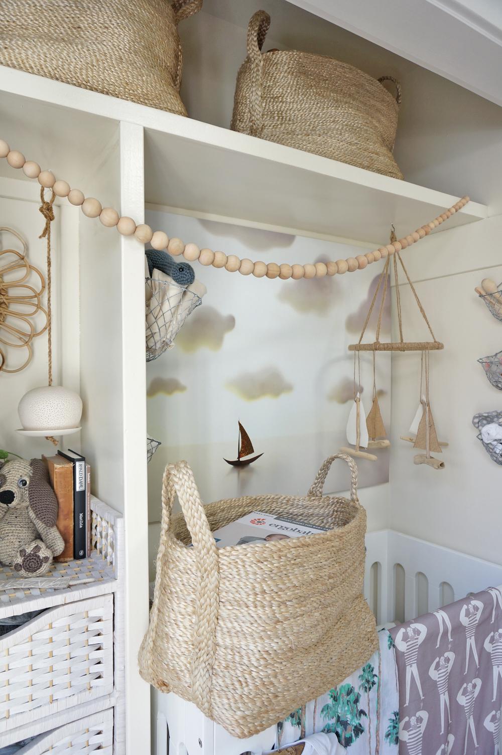 Tiny House Closet Nursery The Details