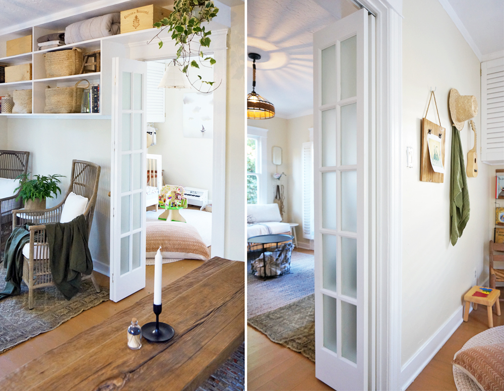 Interior Doors For Compact Spaces The Tiny Canal Cottage