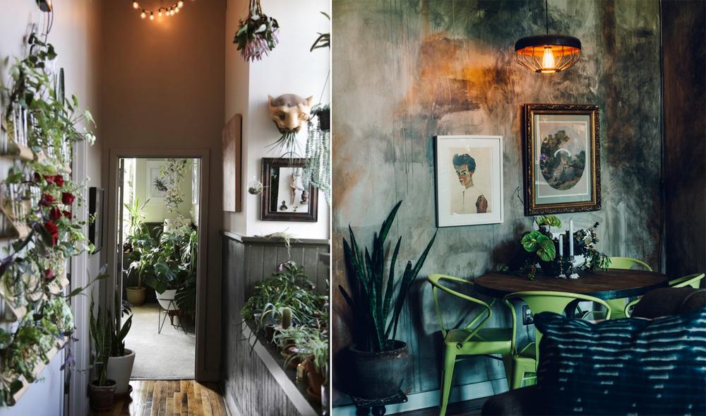 Left Photo © Cat Thomas / Right Photo © Jared Soares via Domino