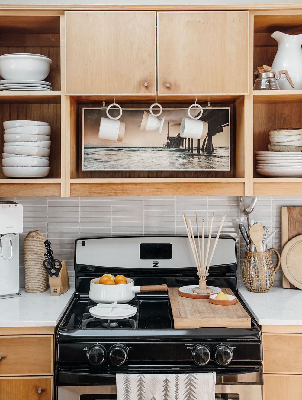 Photo of the Cottage kitchen taken by Lily Glass for  SFGirlbyBay