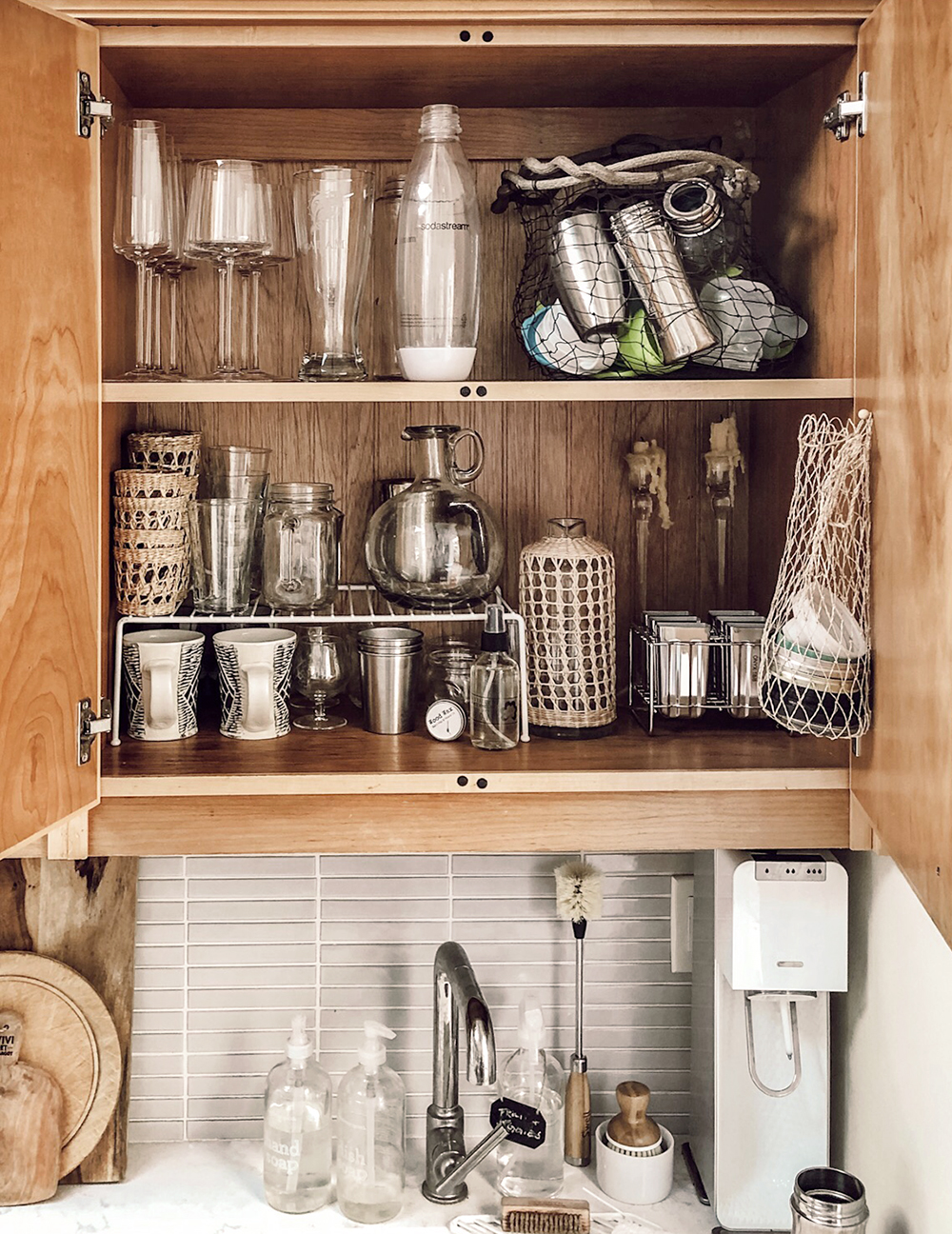 A Look Inside Kitchen Storage The Tiny Canal Cottage