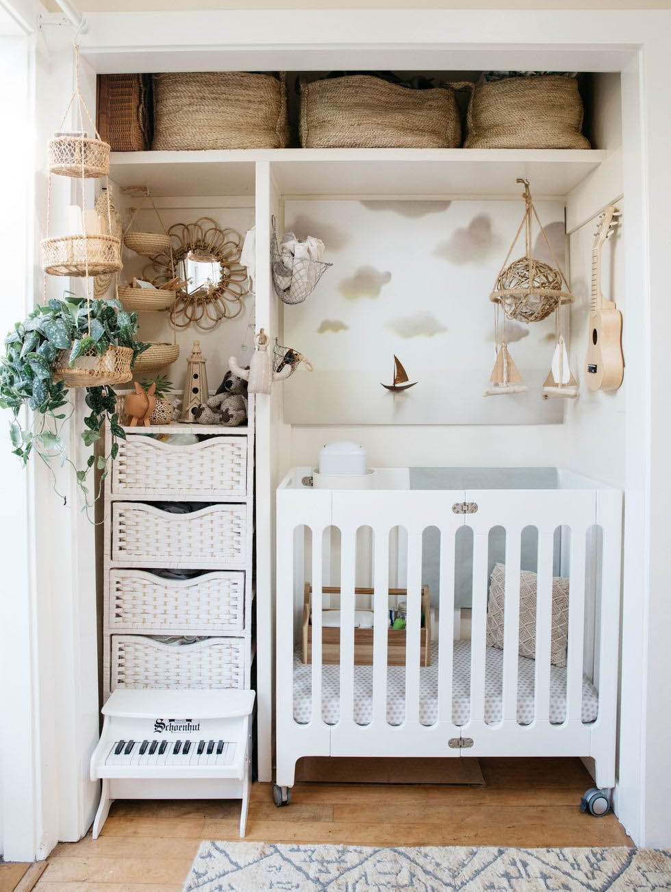 Above: Photo of the Cottage nursery by Sami Drasin for Cosmo (2017)