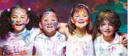 Holi for Kids