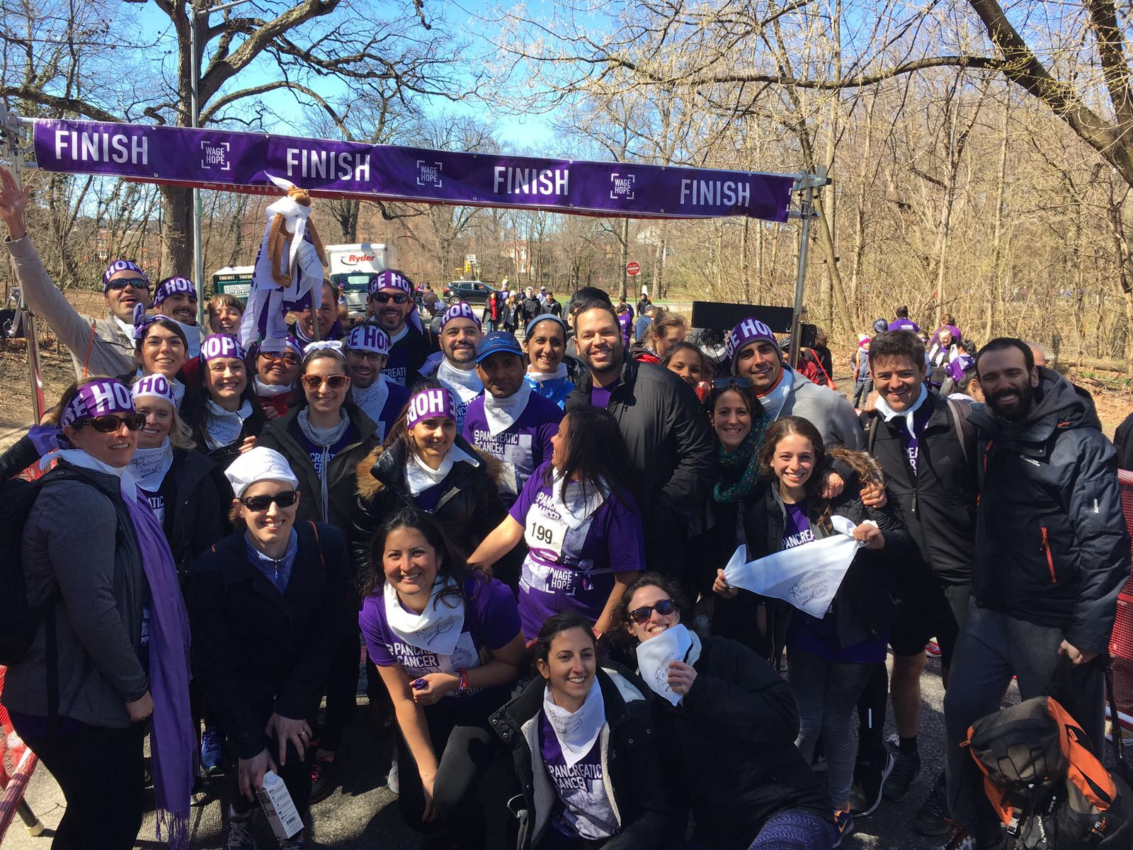 ReSearching for a Cure- Purple Stride