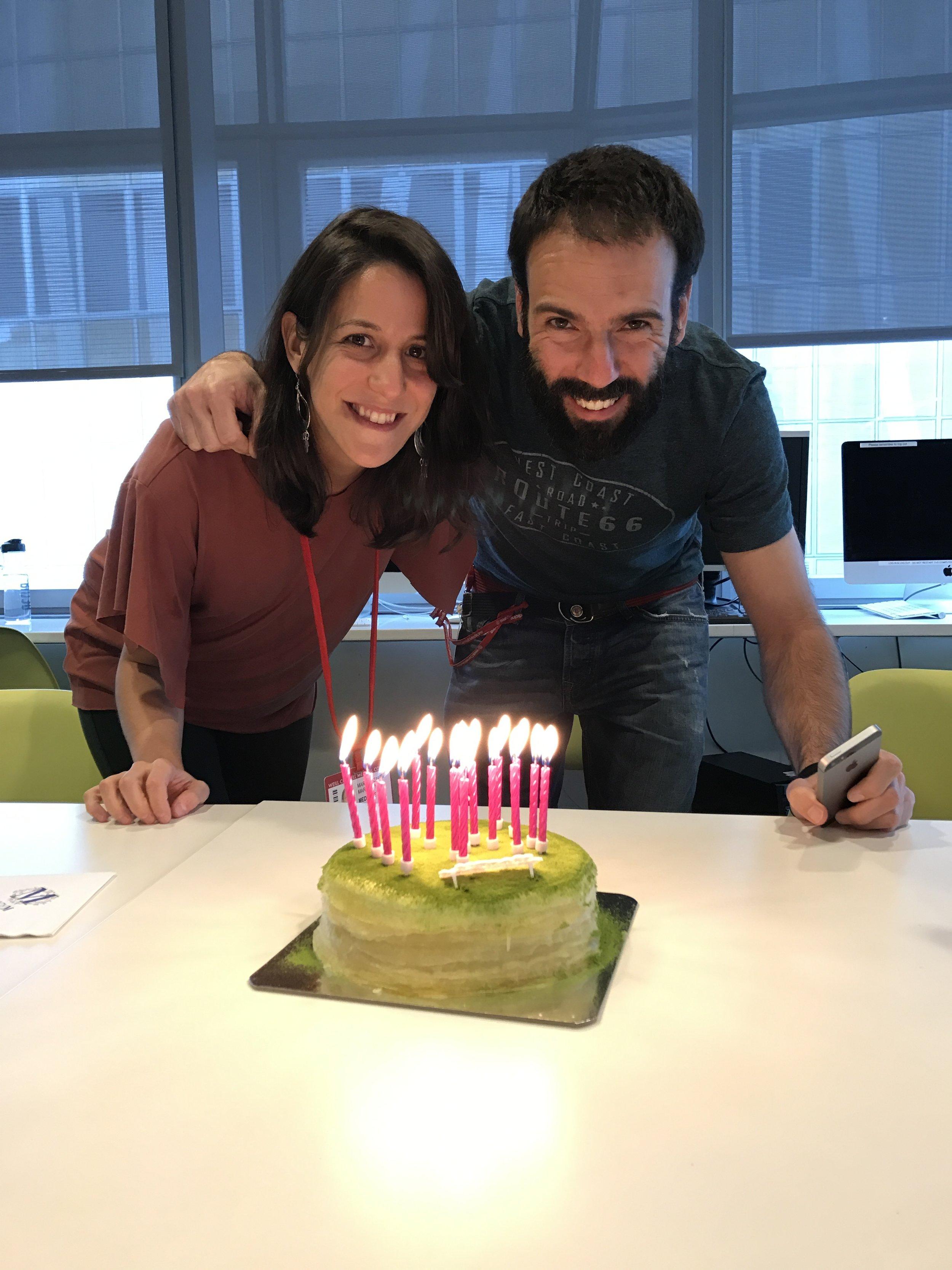 Happy Birthday Maria and Miguel!