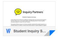 Student Inquiry Surveys