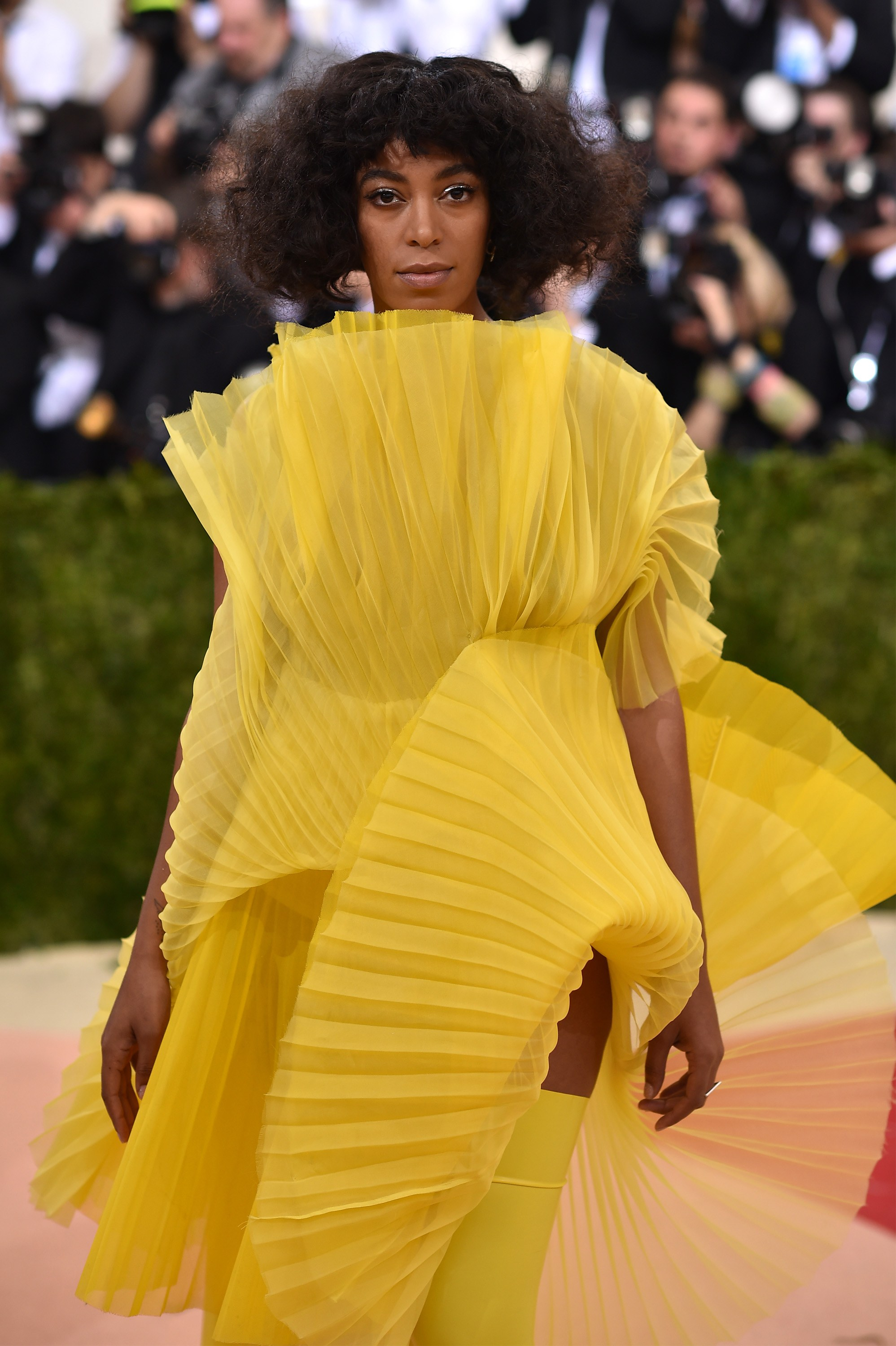 Solange knowles  MET GALA New York 2016