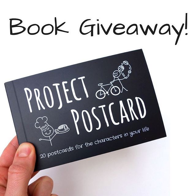 We're giving away a free copy of Project Postcard! To enter: comment below, tagging two of your friends!