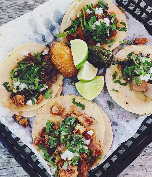 Taco, taco, nawm, nawwwm😊 . Photo by the ever talented @thehungrythinker😘 . @ Taqueria Delicias . . . .
