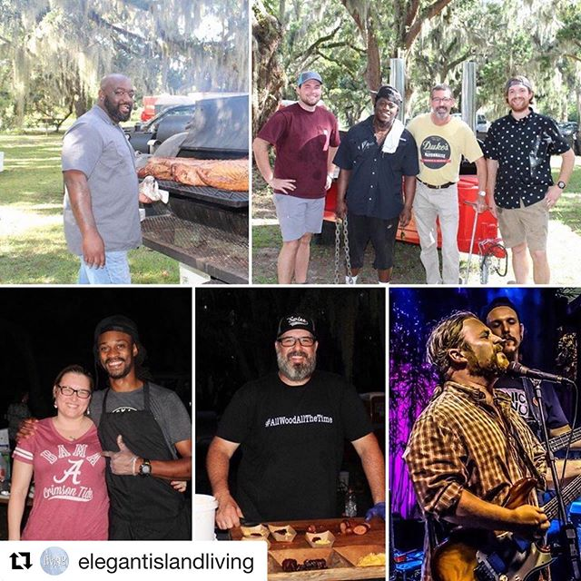 #Repost @elegantislandliving with @get_repost ・・・ Have you purchased your tickets for next Saturday's Firebox BBQ on the Bluff? You don't want to miss out on the amazing food and fantastic music this fabulous fundraiser has to offer. How often do you get to have a gathering of this BBQ royalty in your backyard?!(Thursday's dinner already sold out!) Read about it in our Sept issue (link in bio) & get your tickets before they're gone!  #firebox #bbqonthebluff #ssievents #ssbq #stsimonsisland #elegantislandliving