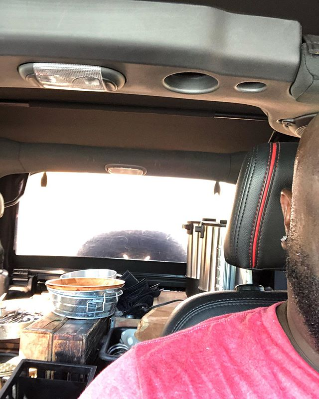 """#catering Off the plane, drive to storage and loaded up for an event tomorrow in #fernandina """"Today's Preparation is Tomorrow's Performance""""! #chefslife"""