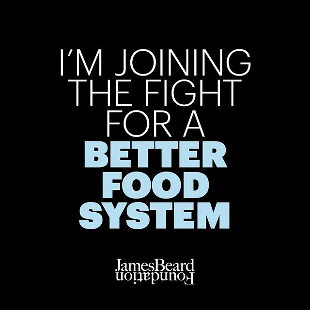 Looking forward to following along with the conversations at @beardfoundation Chef Action Summit. Chefs, farmers, fishermen, activists and artists all have a say in our democracy and issues we prioritize. Great to see more voices in the fight for a better food system for all. #goodfoodforgood #chefslead