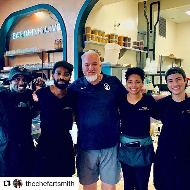 #Repost @thechefartsmith with @get_repost ・・・ @chefkennyg @gilberts_social @mayoclinic thank you Chef Kenny and team for a delicious comforting meal. We are very grateful and enjoyed every bite. Superb field peas,dressing,greens,burnt ends and fried chicken skins! Pimento cheese and crackers perfect southern antipasto. Your such a dear no wonder @oprah loves you and your upcoming appearance in @oprahmagazine November 2019. Thank you brother! XoArt  Thank you Chef😊