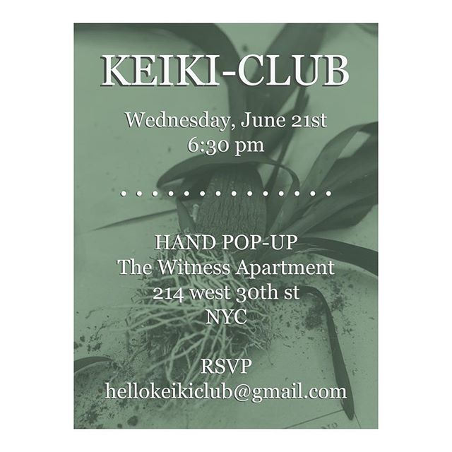 Start your clippings for #keikiclub at @handpopup ! Please RSVP for details. 🌿🌵🌱🎋 The goal of Keiki-Club is to create an open social community for friends and flora fanatics to come together and grow plants, share knowledge, and trade collections.