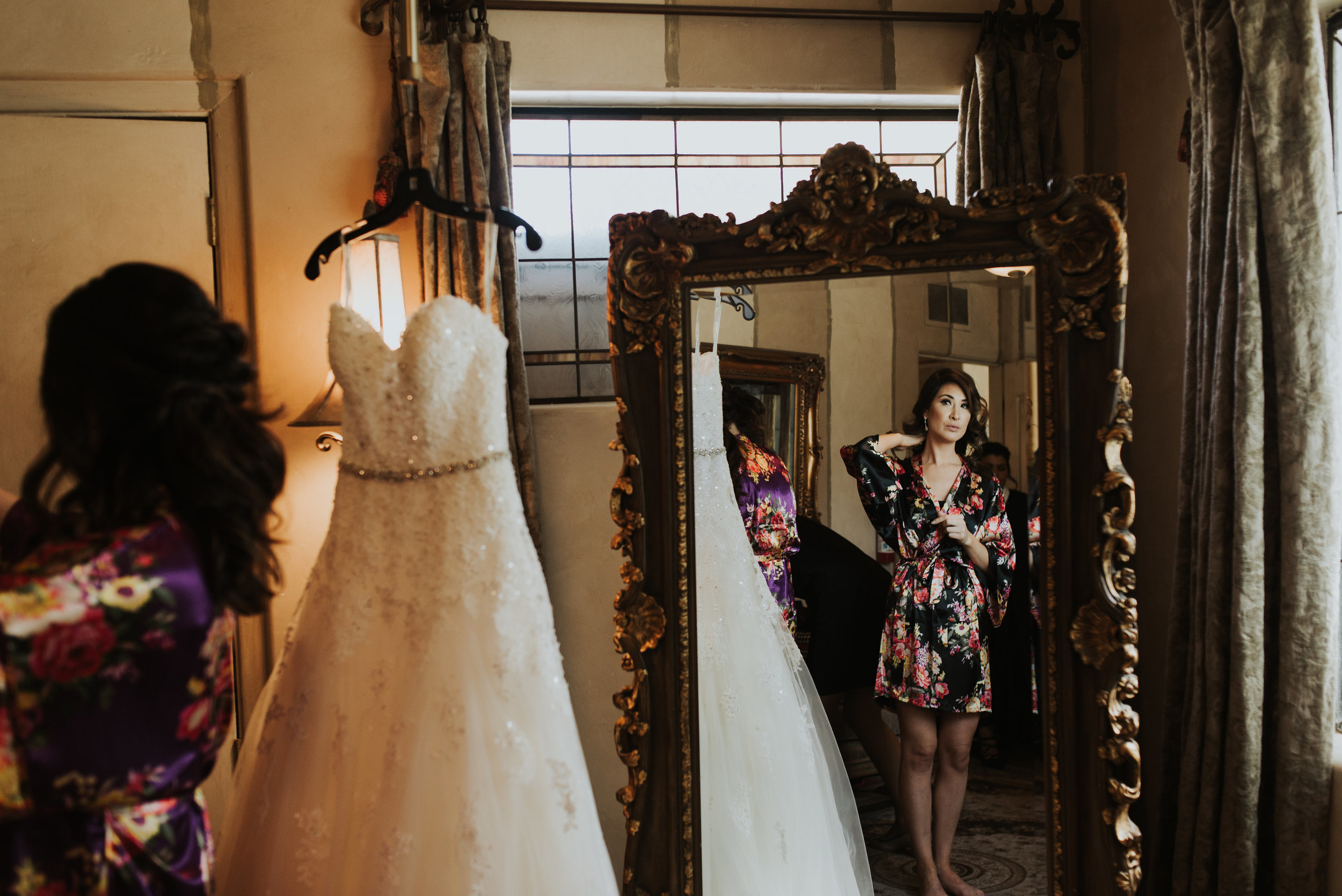 Help Pick Dresses - Help the Bride choose her wedding dress and provide input for the Bridesmaids dresses