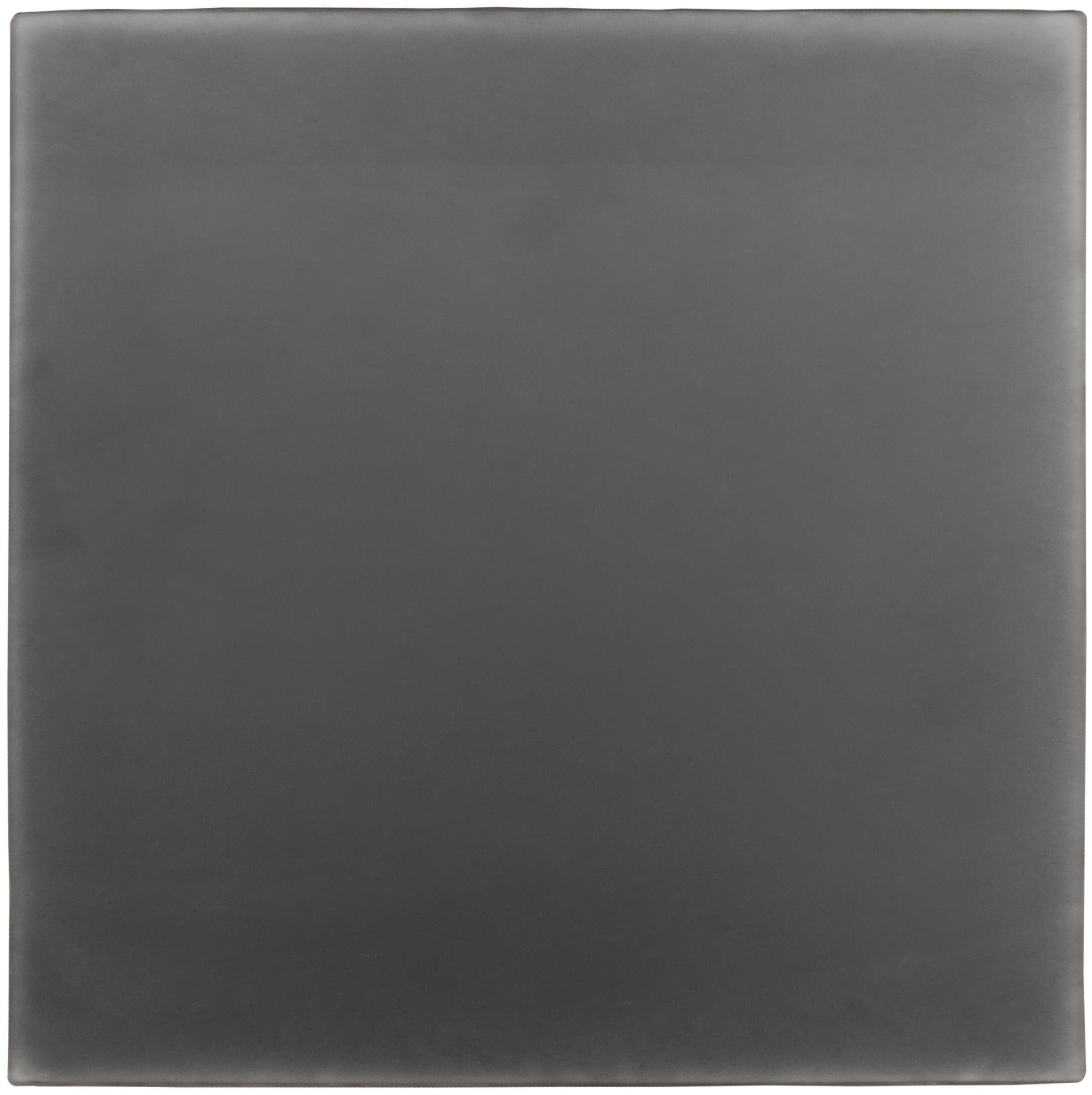 "UNTITLED #84, BLK Resin on mirrored plexiglass 16 x 16"" 1995  INQUIRE"