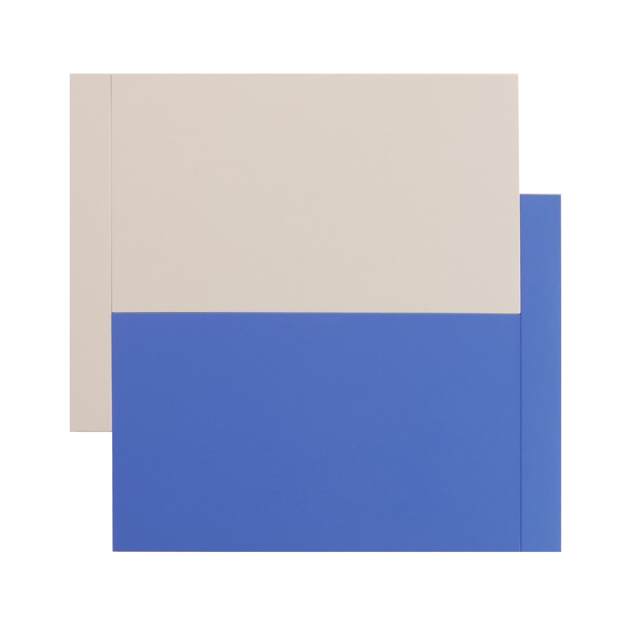"SHIFT CANVAS, BLUE   Acrylic on canvas   48 x 48""   INQUIRE"