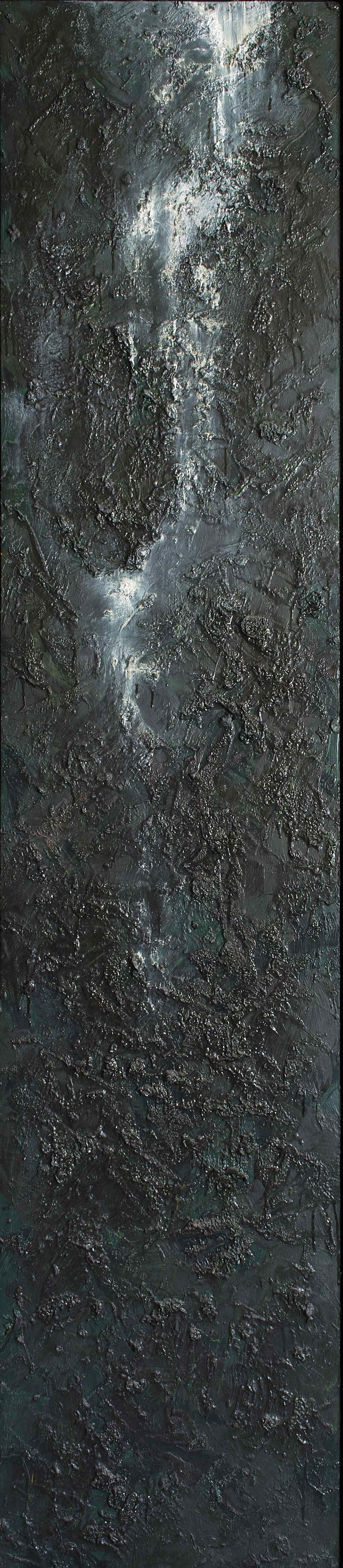 UNTITLED (WATERFALL PAINTING I)
