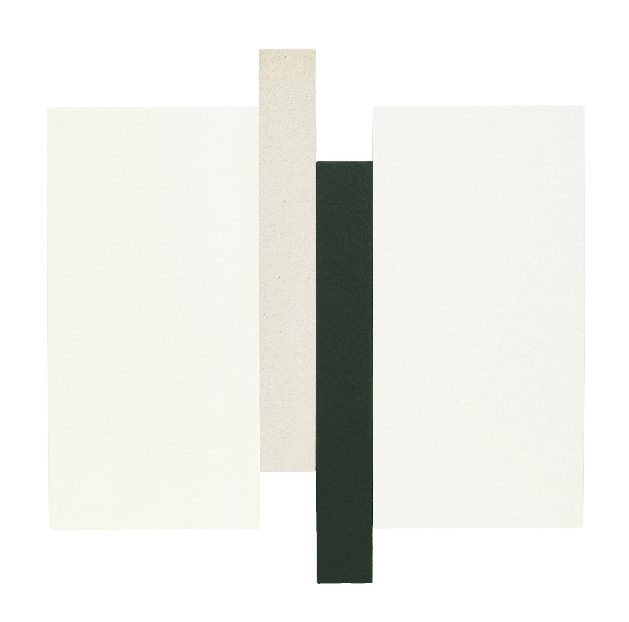 ARUPA - WHITE, GREEN, CANVAS