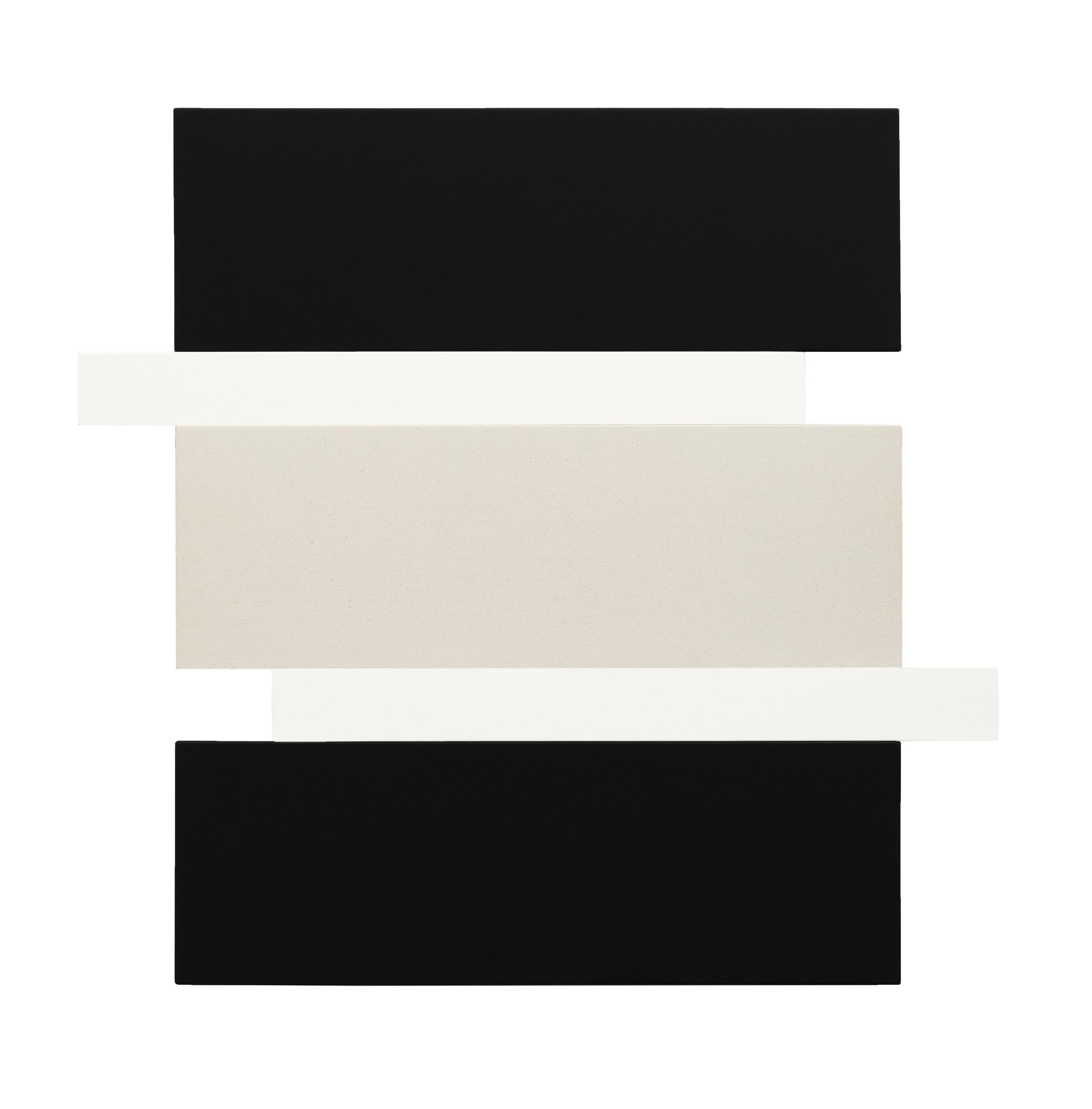 STACK - BLACK, WHITE, CANVAS