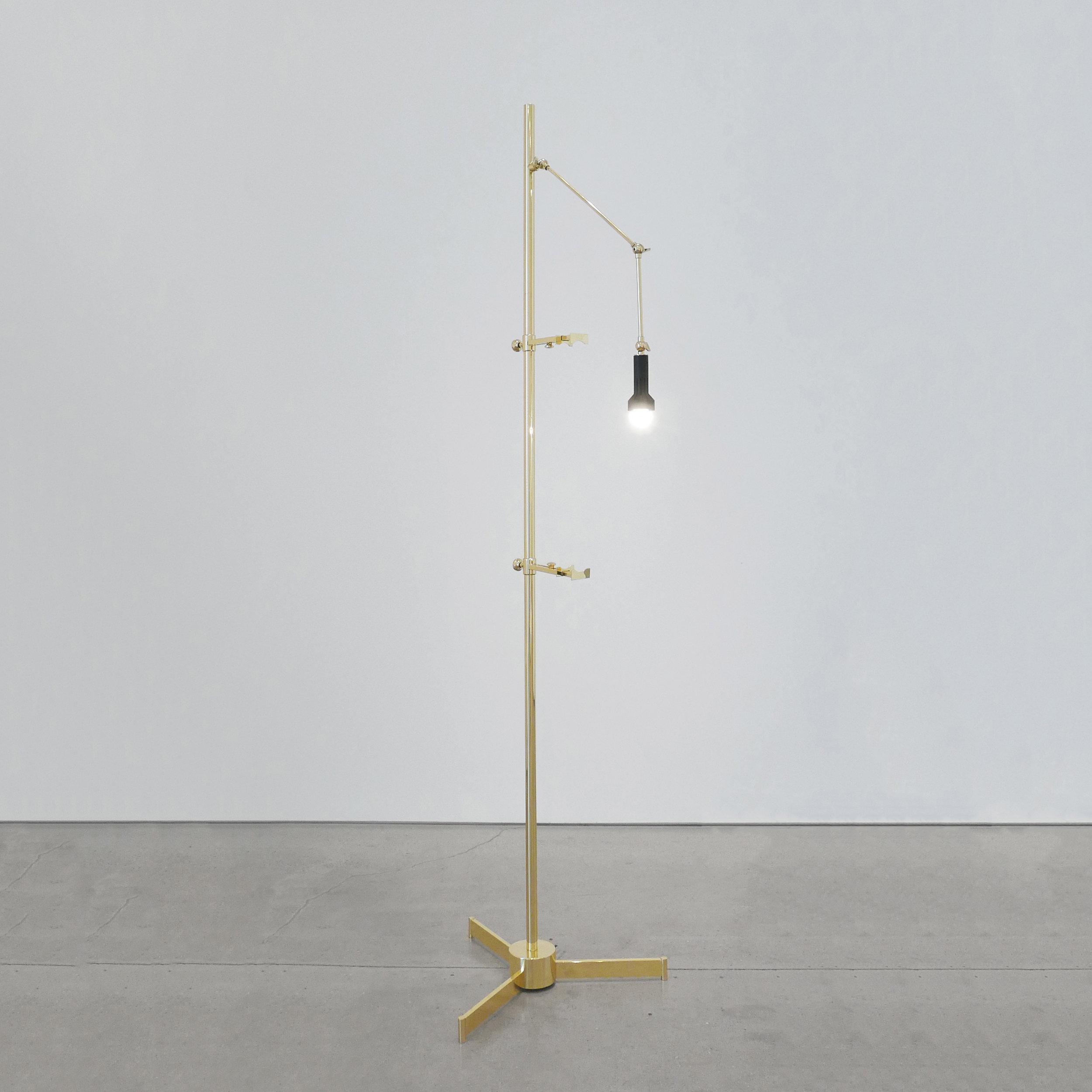 ANGELO LELLI  EASEL LAMP FOR ARREDOLUCE  C. 1950- 1959 ...
