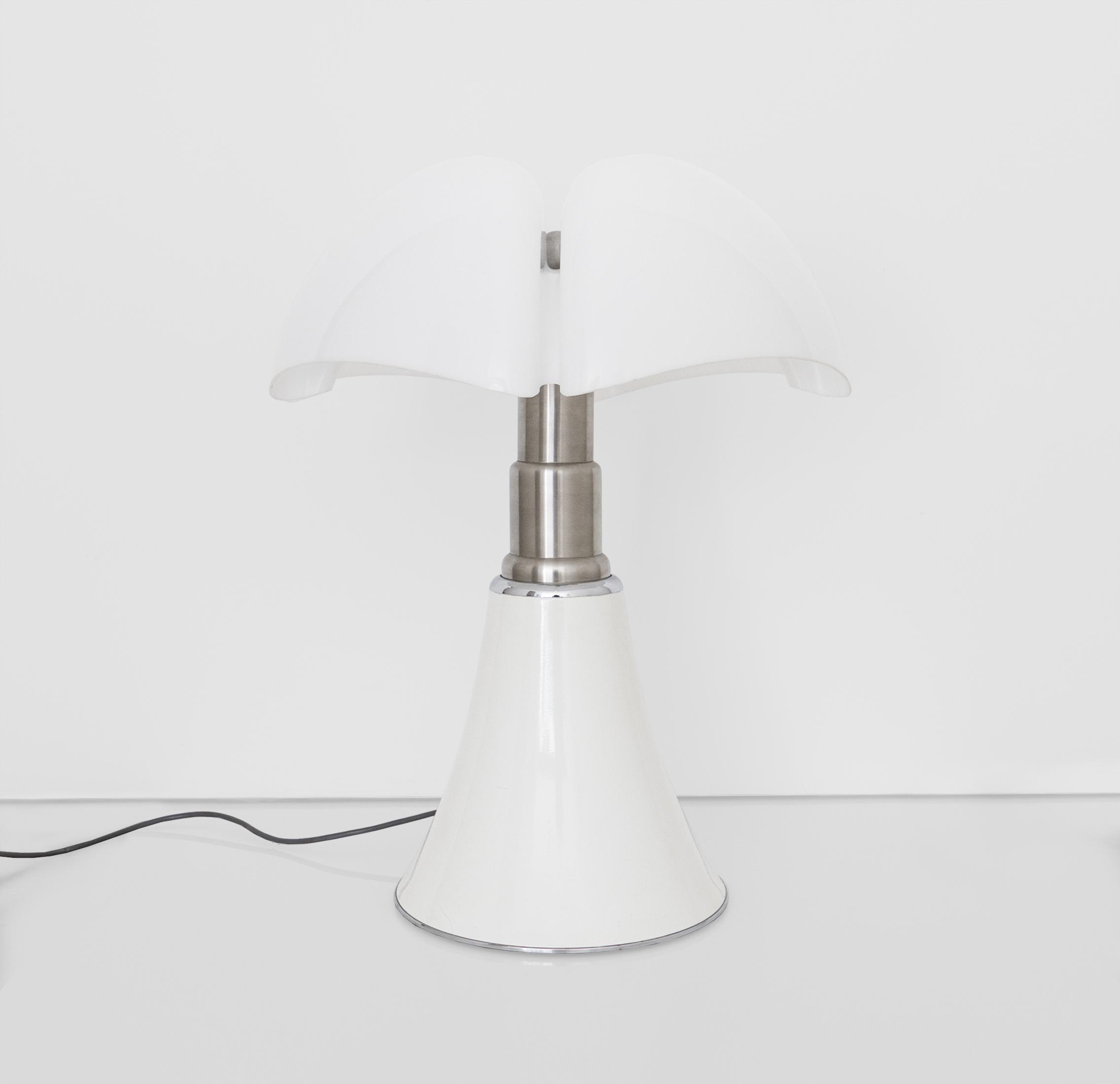 GAE AULENTI  PIPISTRELLO TABLE LAMP DESIGNED FOR MARTINELLI LUCE  c. 1960 - 1969 ...