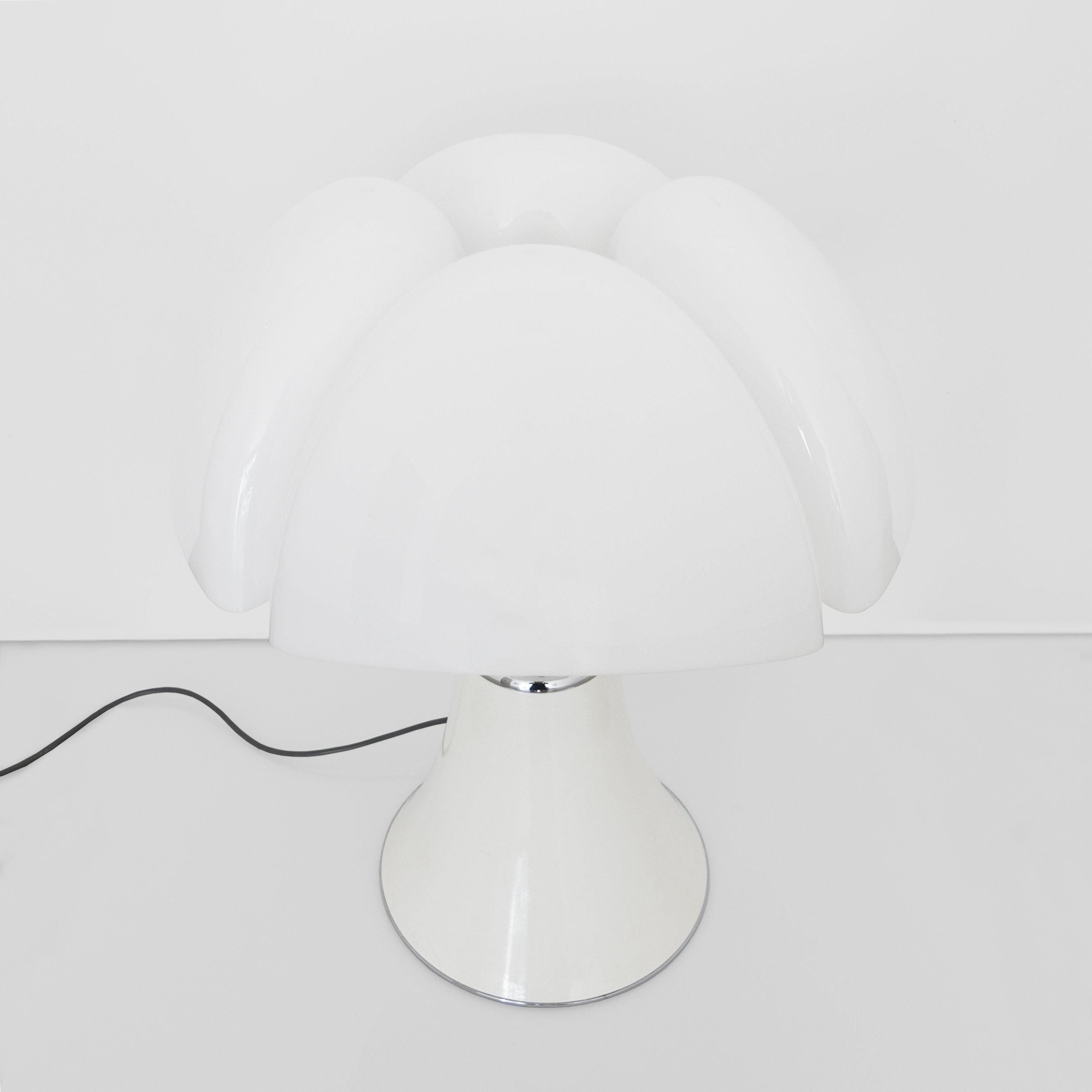 Gae Aulenti, Pipistrello Table Lamp Designed For Martinelli Luce, c. 1960s, Methacrylate, metal, 28 H x 21 Diameter inches_2.jpg
