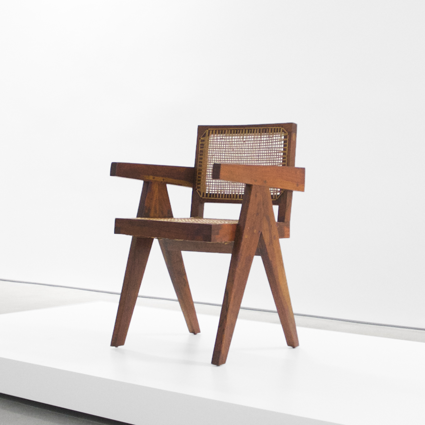 pierre jeanneret  teak conference chair from chandigarh, india  c. 1952 - 1956 ...
