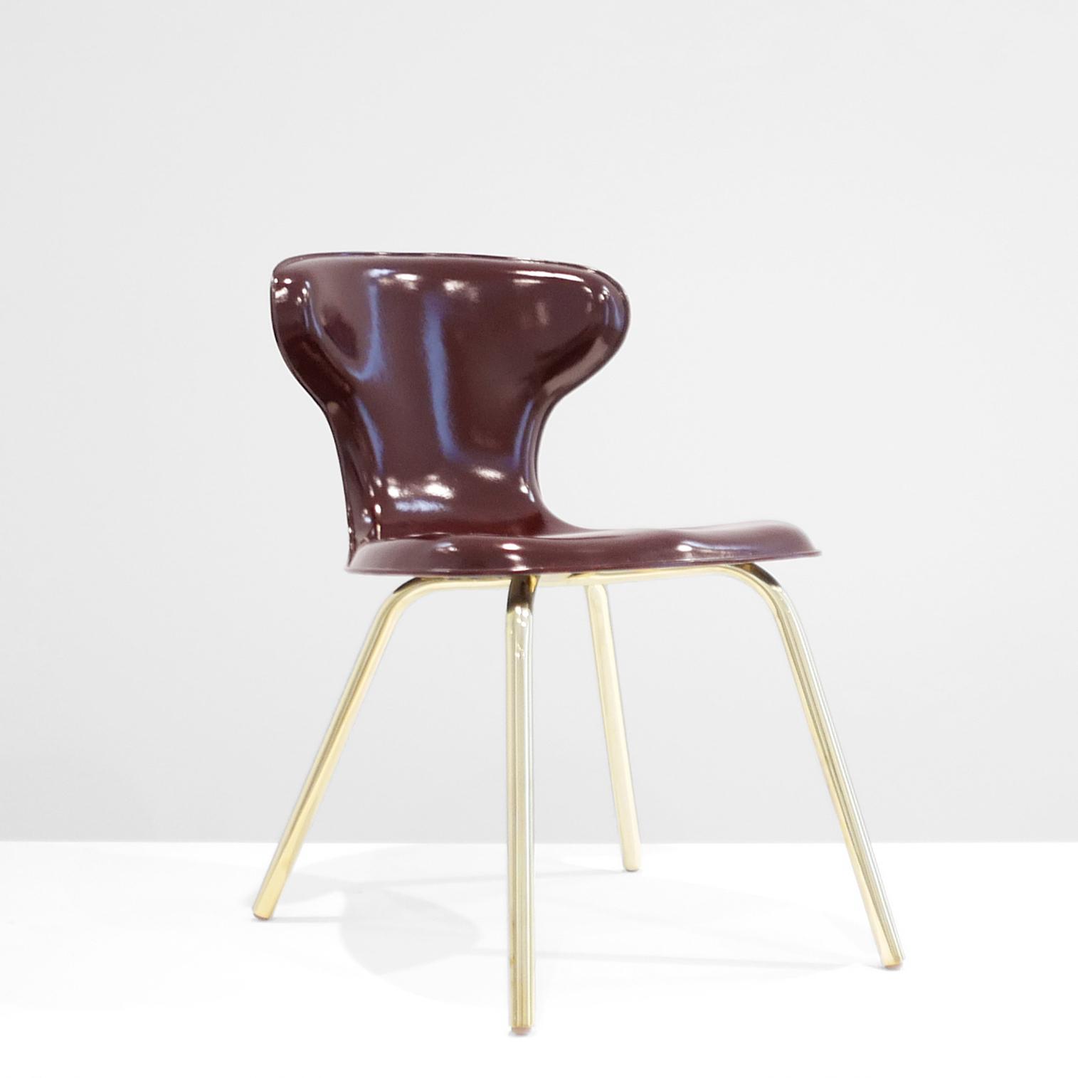 egmont arens  fiberglass chair  c. 1950 - 1959 ...