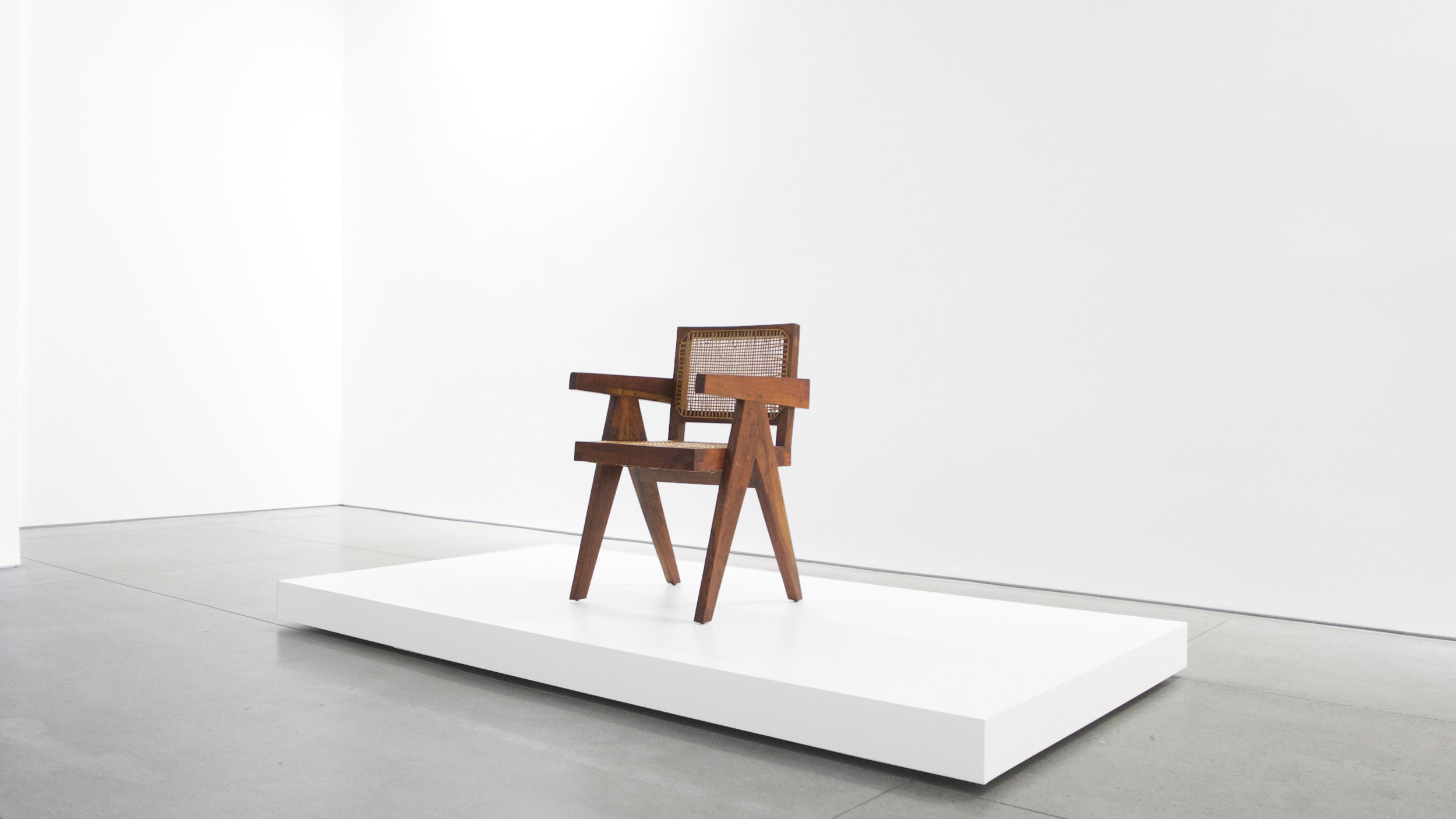 Pierre Jeanneret, Teak Conference Chair from the City of Chandigarh, India, c. 1952, 31 H x 18 W x 19.75 D inches_3.jpg