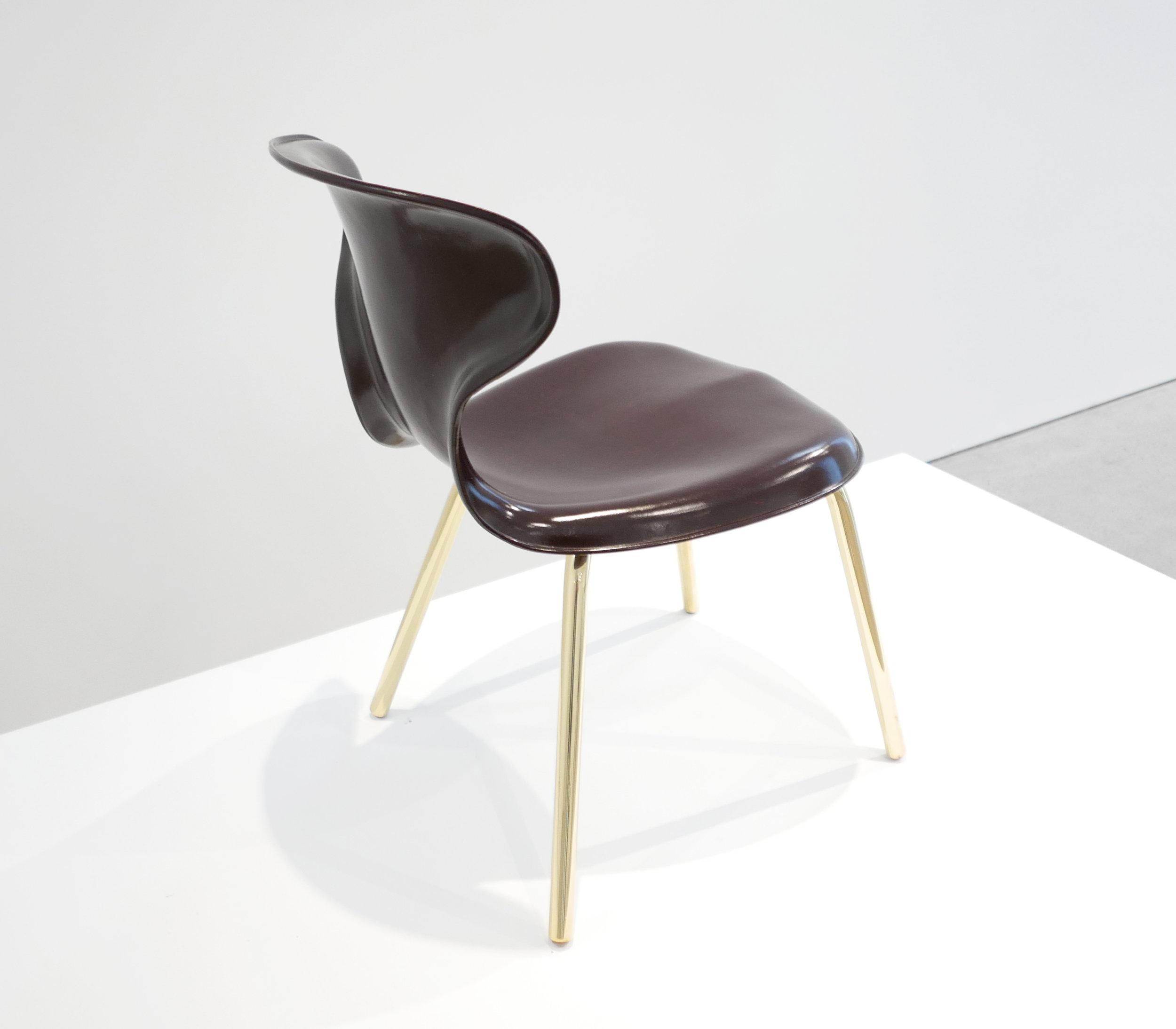 7. Egmont Arens, 'Fiberglass Chair,' fiberglass, vinyl, steel, 30.5H x 17.5L x 20W inches.jpg