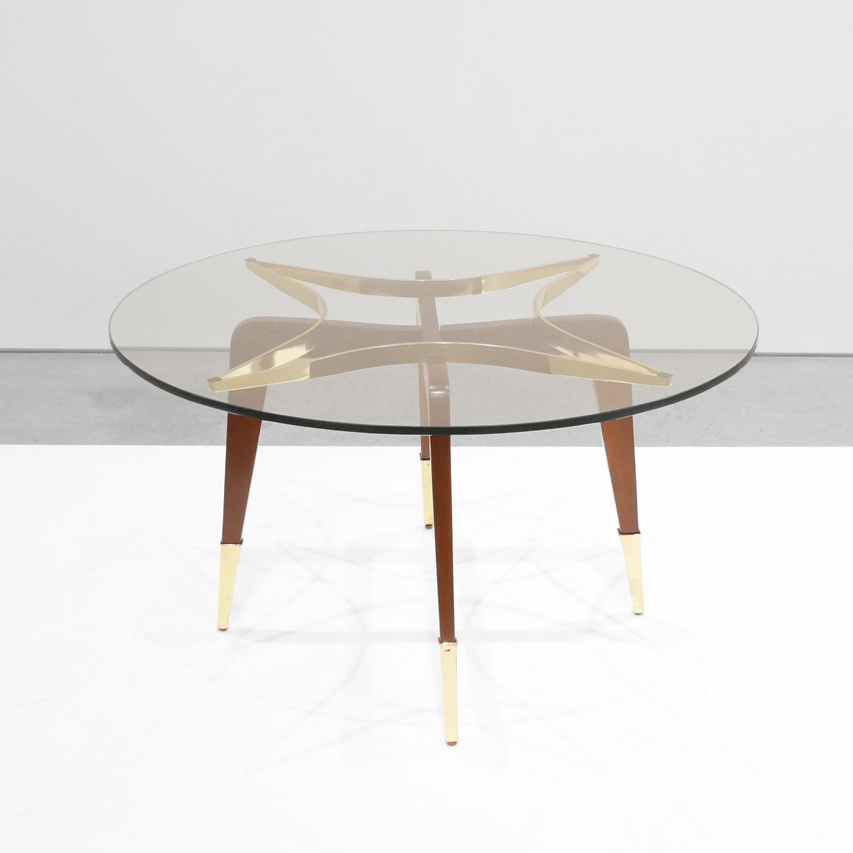 paolo buffa ATTRIB.  mid-century coffee table  c. 1950 - 1959 SOLD