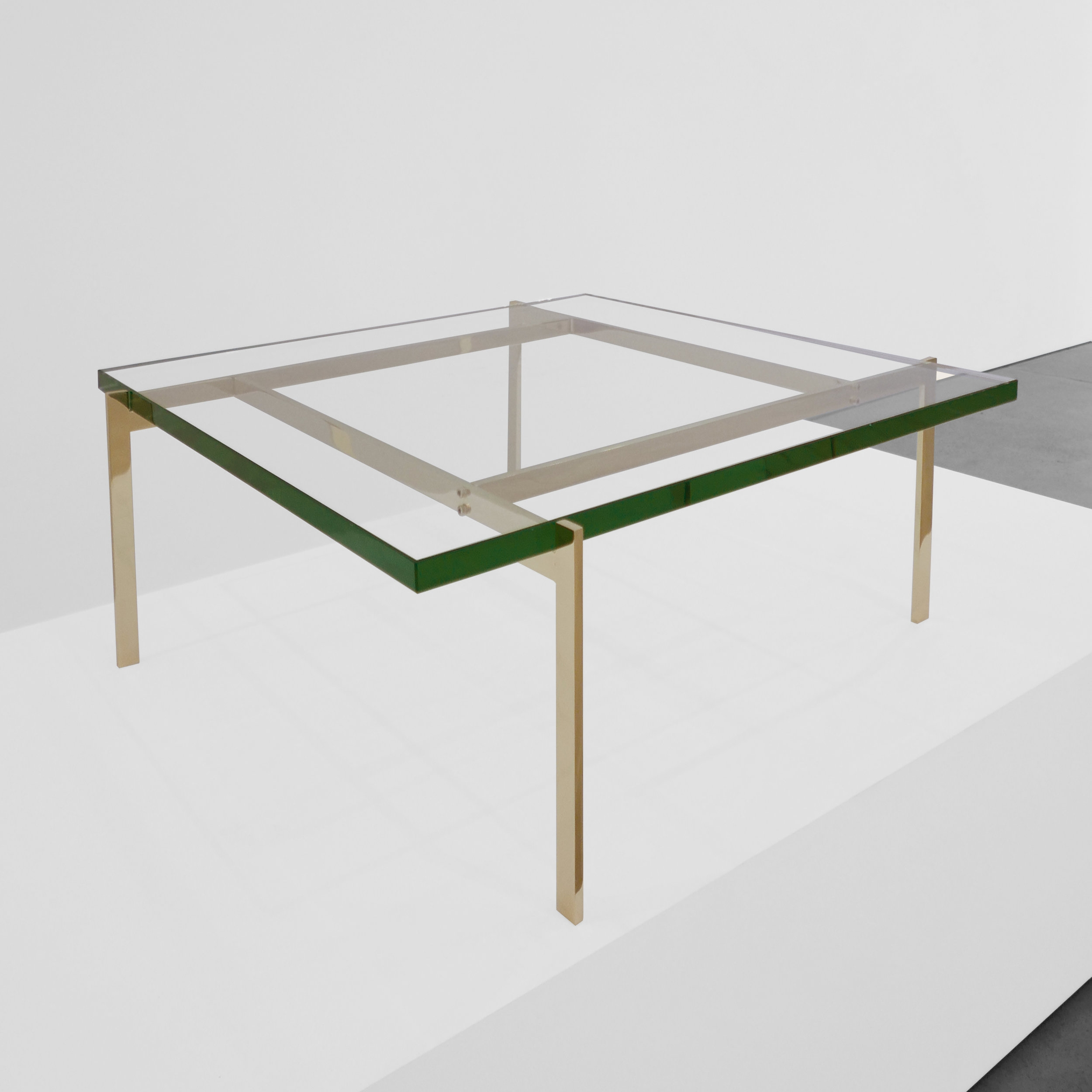 Poul kjaerholm  pk61 coffee table  c. 1950 -1959 ...