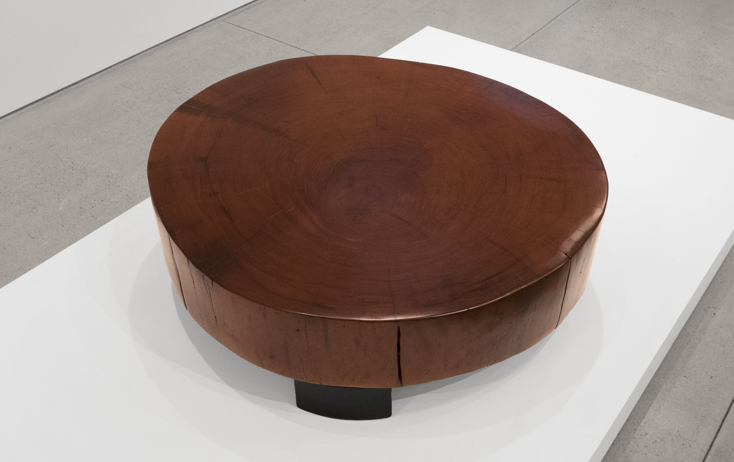 Peroba Woodblock Coffee Table, Solid Peroba, 13 H x 37 W x 34 D inches_4.jpg